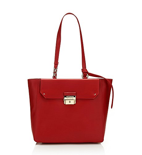 Guess Borsa Donna Maelle tote rosso