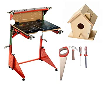 Fabulous Red Toolbox Workbench Birdhouse And Tools Caraccident5 Cool Chair Designs And Ideas Caraccident5Info