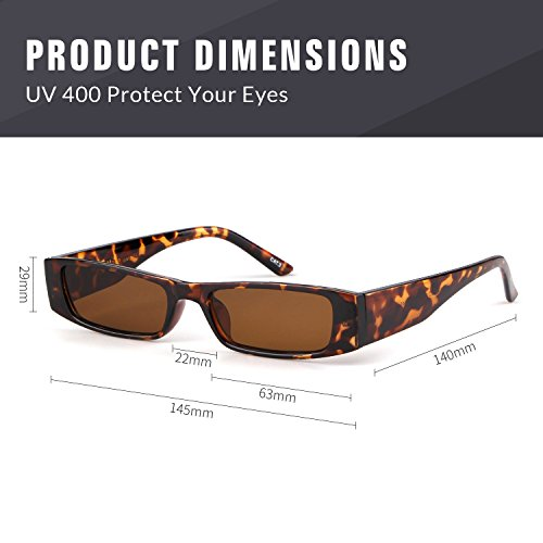 Men Sole TartarugatelaioBrownlente Fashion Adewu Rettangolari Clout Designer Stylish Occhiali Women Da Goggles DHI9WE2Y
