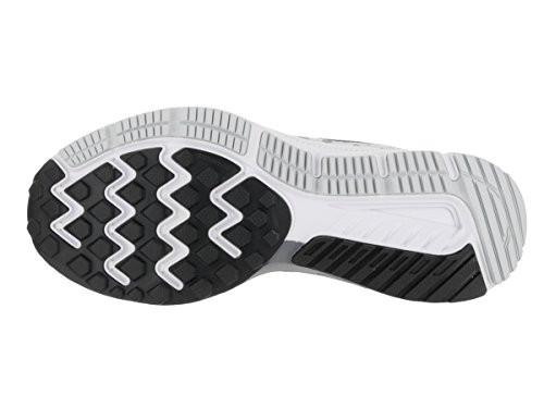 Nike Zoom del hombre Span Running Shoe White/Black Cool Grey Pure Pla
