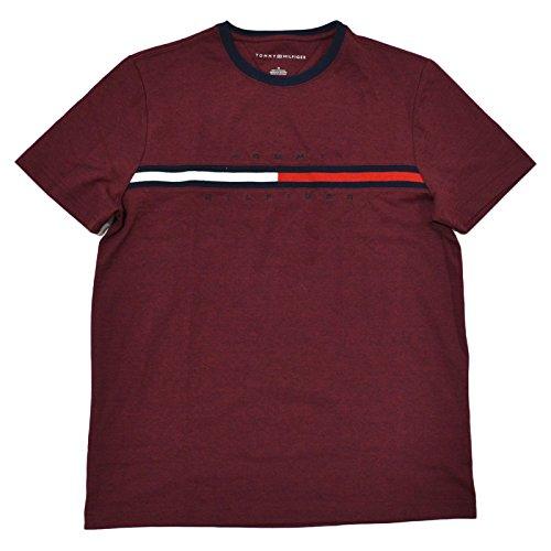 Tommy Hilfiger Flag Herren T-Shirt Shirt red Größe XXL