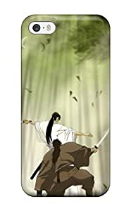 Ideal DanRobertse Case Cover Case For Sam Sung Galaxy S5 Cover (trees Forest Birds Fighter Grass Bo Samuraiduel Kimono Anime Sunbeams Swords Warriors), Protective Stylish Case
