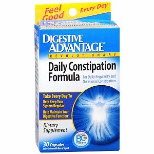 Digestive Advantage Daily Constipation Formula, Capsules 30 ea