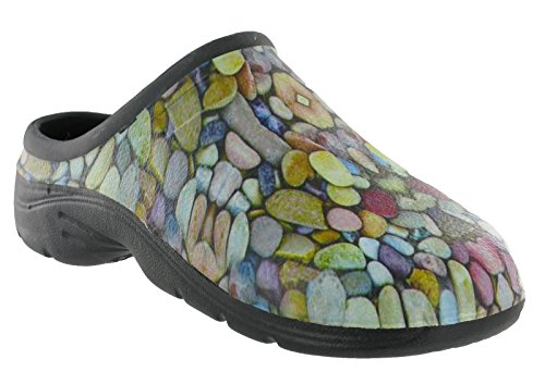 Pebble Retro Adulti Aperto Shoeshoebedoclogs Unisex Y1qAOTF