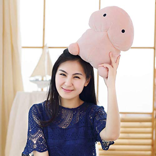 Stuffed Animals Creative Plush Penis Toy Doll Funny Soft Stuffed Plush Simulation Penis Pillow Cute Sexy Kawaii Toy Gift for Girlfriend - 30cm by LQT Ltd (Image #3)