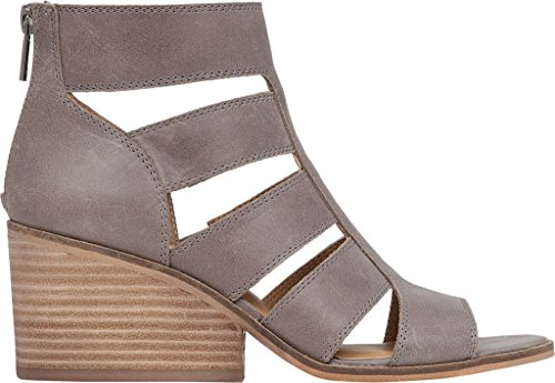 Frauen Driftwood Lucky Sandales Brand Leather us Dark Femme vpaIzq