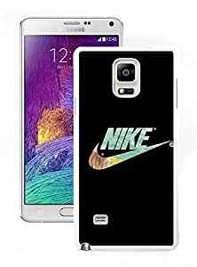 NIKE Logo Black White Samsung Galaxy Note 4 Screen Cover Case Fantasy and Luxurious Skin