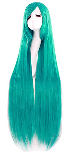Long Turquoise Wig (MapofBeauty 40
