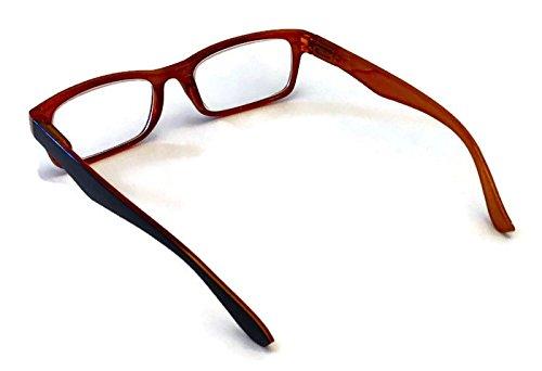Prescription Reading Glasses, 5 pairs (multicolored, +1.25)