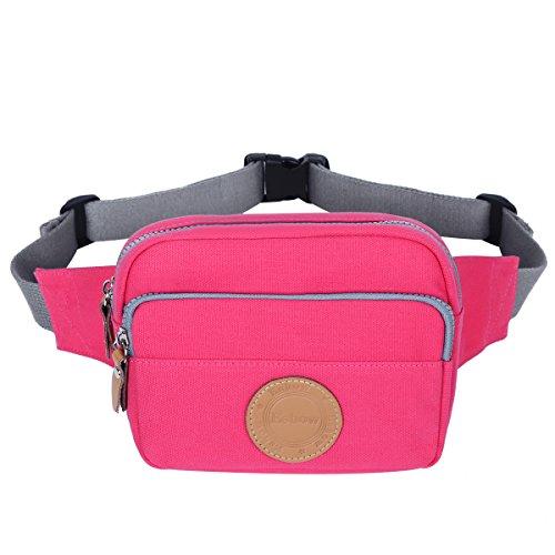 Waist bags women travel waist bag (Pink) - 4