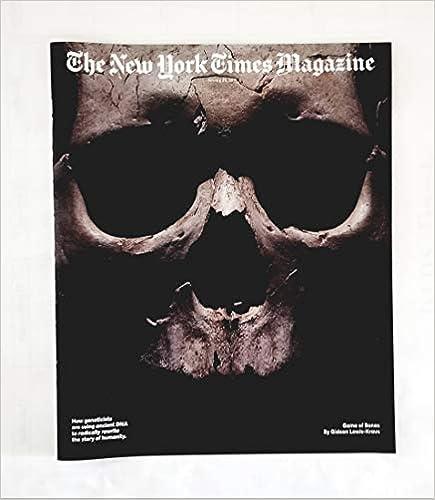 The New York Times Magazine - January 20, 2019 - Game of Bones