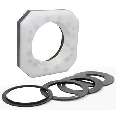Opteka RL12 Digital Macro LED Ring Light for Canon EOS 60Da, 60D, 50D, 5D, T4i, T3i, T3 and T2i Digital SLR Cameras by Opteka