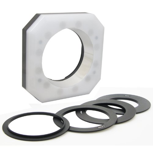 - Opteka RL-12 Digital Macro LED Ring Light for Canon EOS, Nikon, Sony Alpha, Olympus and Pentax Digital SLR Cameras