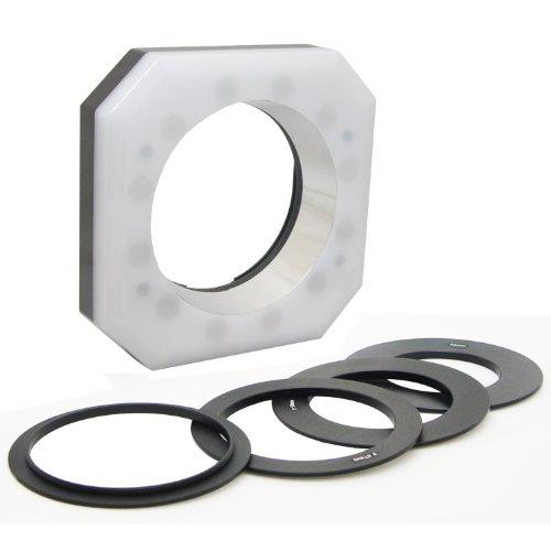 Opteka RL-12 Digital Macro LED Ring Light for Canon EOS, Nikon, Sony Alpha, Olympus and Pentax Digital SLR Cameras
