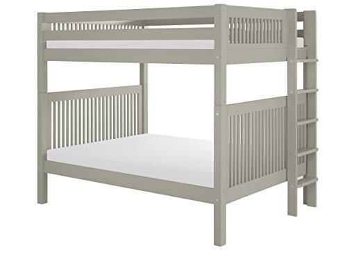 Camaflexi C1614L_GY Full Over Full Bunk Bed - Mission Headbo