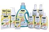 CALIDOU No-rinse Cleaning Kit | Antibacterial Gel + Cleansing Mist Spray