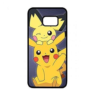 wholesale dealer c165c 79c59 Samsung Galaxy S6 Edge Plus Cover Pikachu Phone Case,Pocket Monster ...