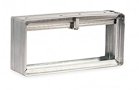 Rectangular Fire Damper 7 34x15 34 In Tools Products Amazoncom