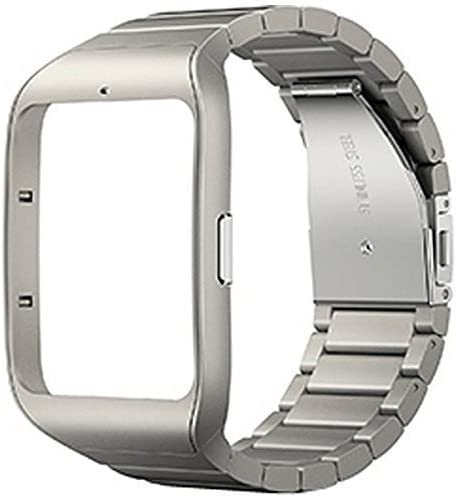 Amazon.com: Sony SWR510M-S Metal Silver Wrist Strap Color ...