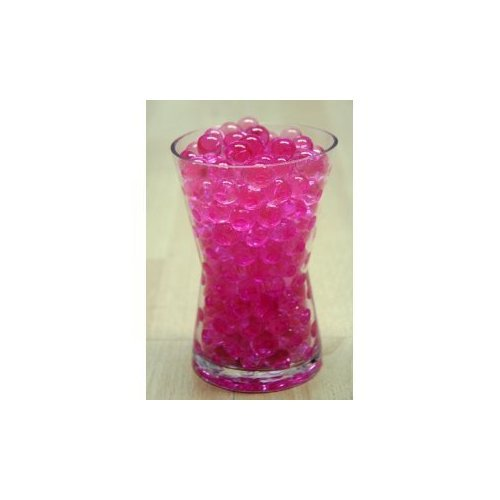 1 X Water Pearls-PINK-Centerpiece Wedding Tower Vase Filler-makes 6 gallons (8 oz.pack)