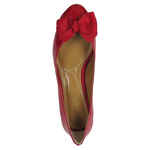 cheap sale for sale sale 2014 newest J.Reneé Women's Cameo Pumps Shoes Red synthetic outlet cost GFOwhfDo
