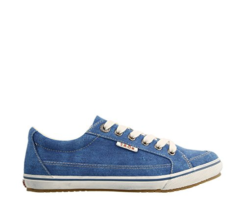 nicekicks sale online free shipping pay with paypal Taos Footwear Women's Moc Star Sneaker Turquoise Washed Canvas buy cheap deals many kinds of cheap price fake online FIBPijSJ