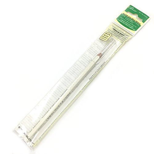 Clover Pencil - Clover Water Soluble Pencil White Marking Pencil #5000