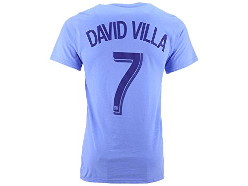 David Villa New York City Football Club Name and Number T-shirt -