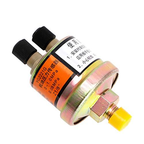 HOWWOH Engine Oil Pressure Sensor Gauge Sender Switch Sending Unit 1/8 NPT ()