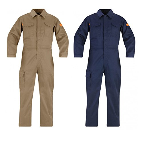 Industrial 100% Cotton Coverall - 6