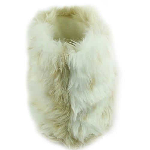 Scarpette Da Donna Morbide Invernali Invernali Calde Da Casa Indoor Stivali Pantofole In Pile Beige
