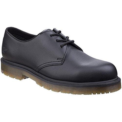 Dr. Martens Mens Arlington Non Slip Leather Lace Up Durable Shoes Black