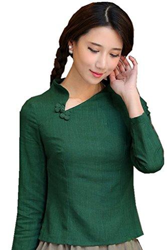 shanghai-story-chinese-tops-long-sleeve-tang-qipao-shirt-blouse-6-green