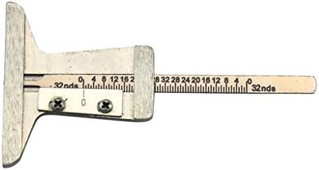 Gazechimp Reifen Profil Tiefenmesser Profilmesser Messchieber Werkzeug für Auto Motorrad