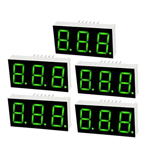 3 digit 7 segment display - 9