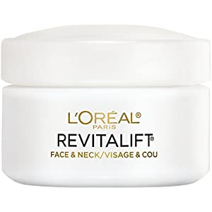 L'Oreal Paris Skincare Revitalift Anti-Wrinkle and Firming Face and Neck Moisturizer with Pro-Retinol Paraben Free