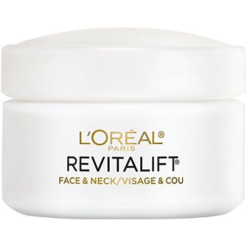 - L'Oreal Paris Skincare Revitalift Anti-Wrinkle and Firming Face and Neck Moisturizer with Pro-Retinol Paraben Free 1.7 oz.