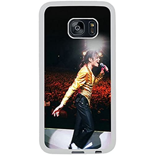 Michael Jackson Moonwalk White Shell Phone Case Fit For Samsung Galaxy S7 Edge,Beautiful Cover Sales