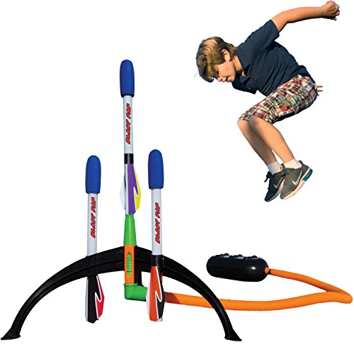 Marky Sparky Blast Pad Rocket Launcher Shoots Over 200 Feet High (Rocket Birthday)
