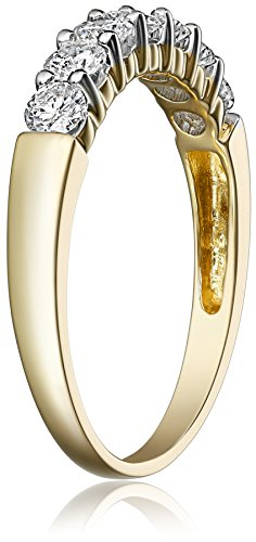 14k Gold 7 Stone Diamond Ring (3/4 cttw, H I Color, I1 I2 Clarity)