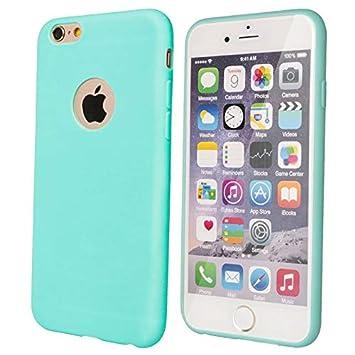 Desconocido Funda de Gel para iPhone 6, iPhone 6s Azul ...