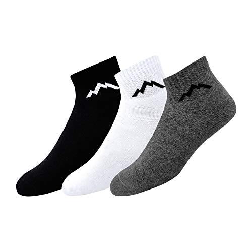- Ranger Sport Men's Heavy Duty Cotton Quarter Athletic Socks, Pack of 3 (Multicolored)