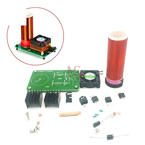 Shop For Cheap Mini Wireless Music Musical Coil Loud Speaker Tesla Power Magic Board Diy Kit Toy Jx03 Module Under 20v Heat Sink Fan Keep You Fit All The Time Electronic Components & Supplies