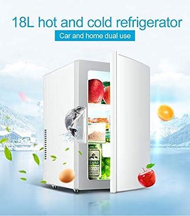ZTTTD Mini refrigerador Mini refrigerador Sistema termoel/éctrico port/átil de CA//CC refrigerador y Calentador el/éctrico 5 litros