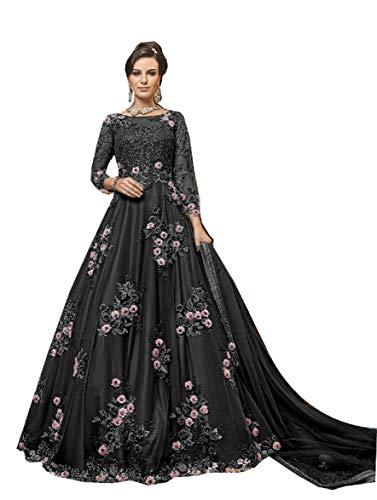 Delisa Fashion New Indian/Pakistani Eid wear Indian Wear & Ethnic Wear Party Wear Anarkali Gown for Women 6302