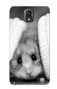 High Quality Trolleyscribe Headphones Music Funny Hamsters Mice Colors Skin Case Cover Specially Designed For Galaxy - Note 3