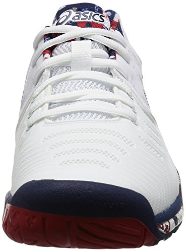 Scarpe London L e Tennis Da Gel resolution 7 Asics White Wva4AYqw