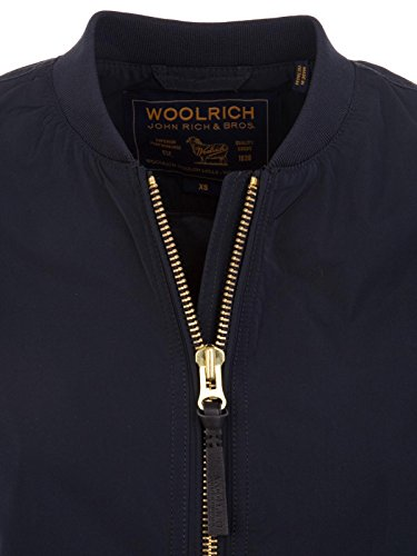 Woolrich Poliestere Outerwear Wwcps23453126 Donna Giacca Blu IaaOrP