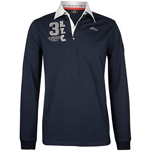Hv Polo Society Herren Rugbyshirt Pullover Sweatshirt Tomkins Navy Dunkelblau Blau M L XL XXL