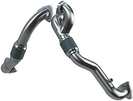MBRP FAL2761 Turbo Up Pipe Kit (Aluminized Steel)